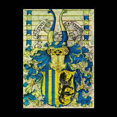 Historische Darstellung des Chemnitzer Wappen